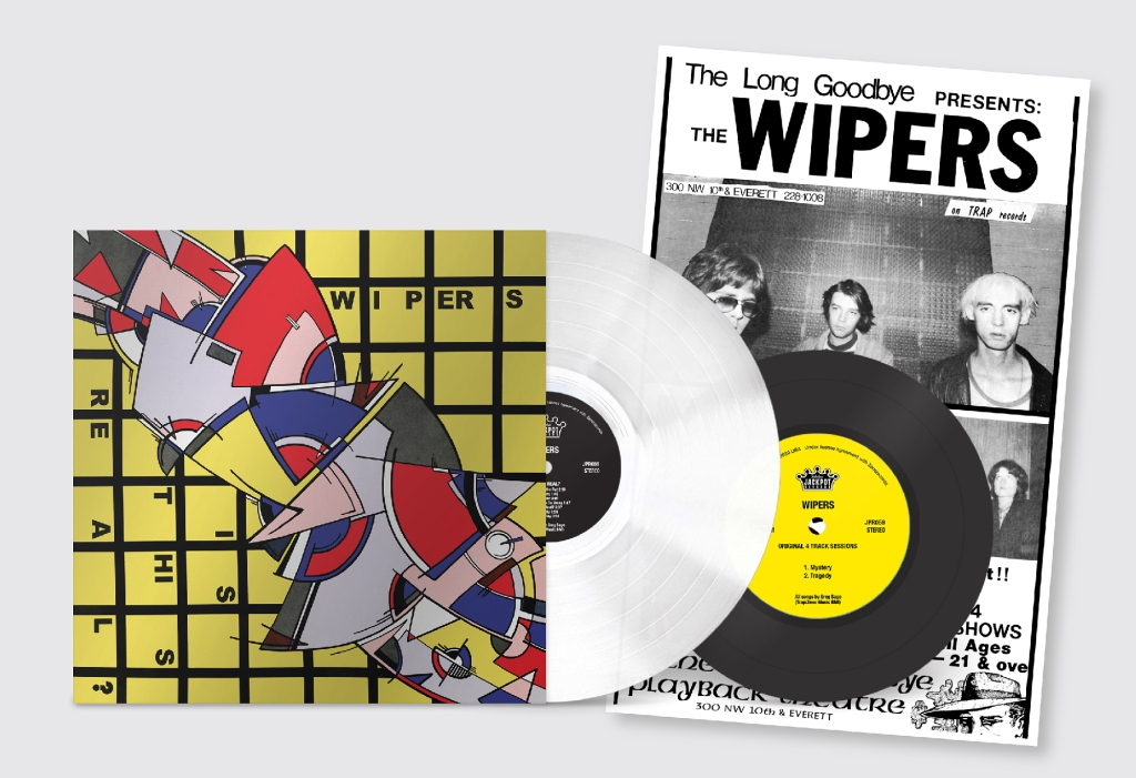 """Wipers, """"Is This Real?"""" reissue"""