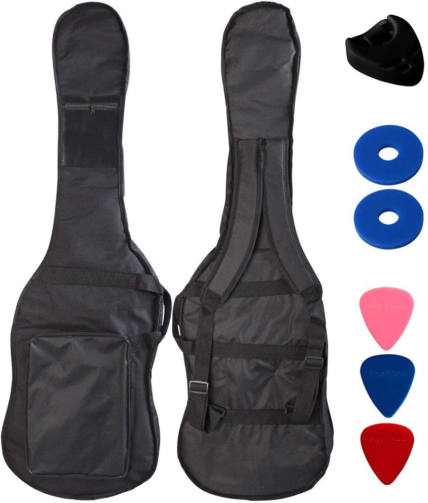ymc shoulder strap bass guitar gig bag