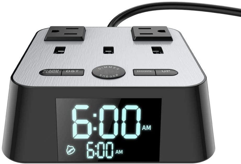 yostyle alarm clock charging station