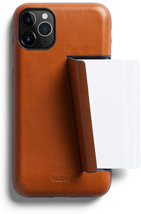 leather phone case card slot