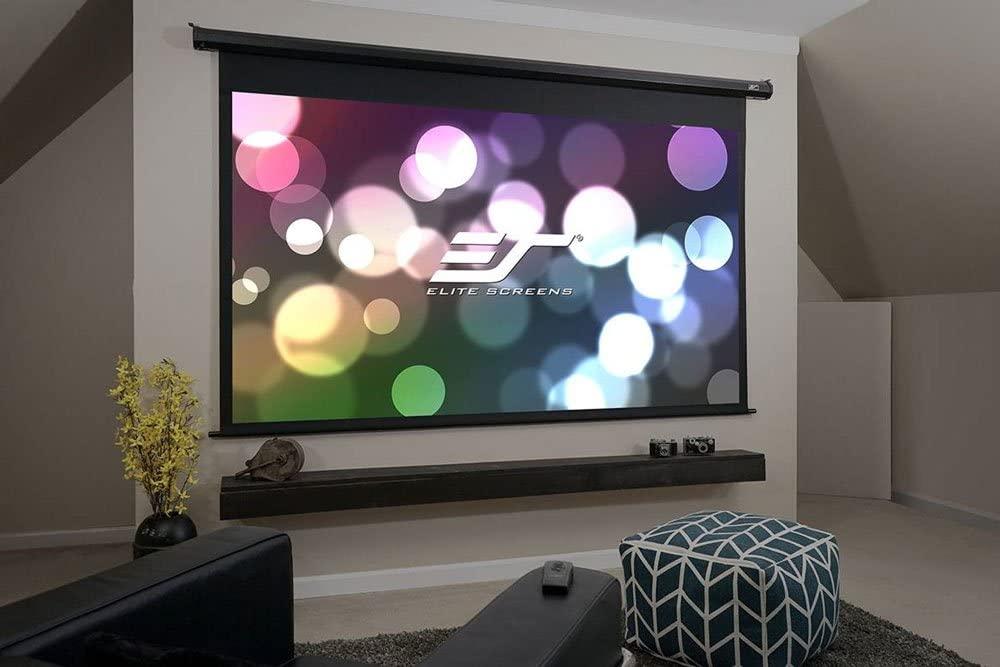 projector screen elite motorized