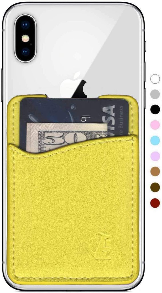 stick on phone wallet