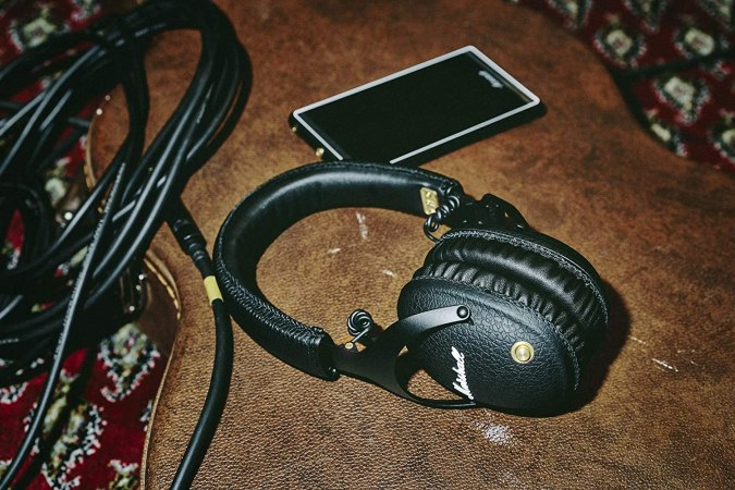 Treat Yourself: Marshall's Luxe, Leather-Wrapped Headphones Are Just $117 on Amazon