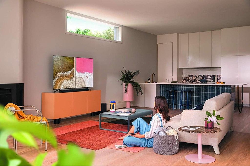 SAMSUNG Q60T Series 65-inch Class QLED Smart TV