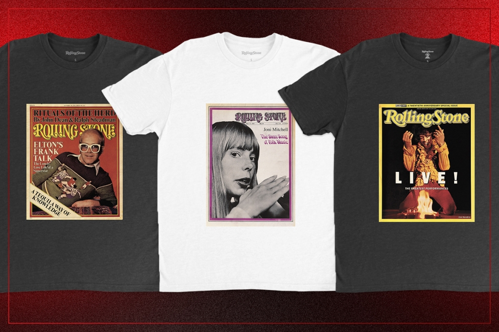 rolling stone t-shirt collection