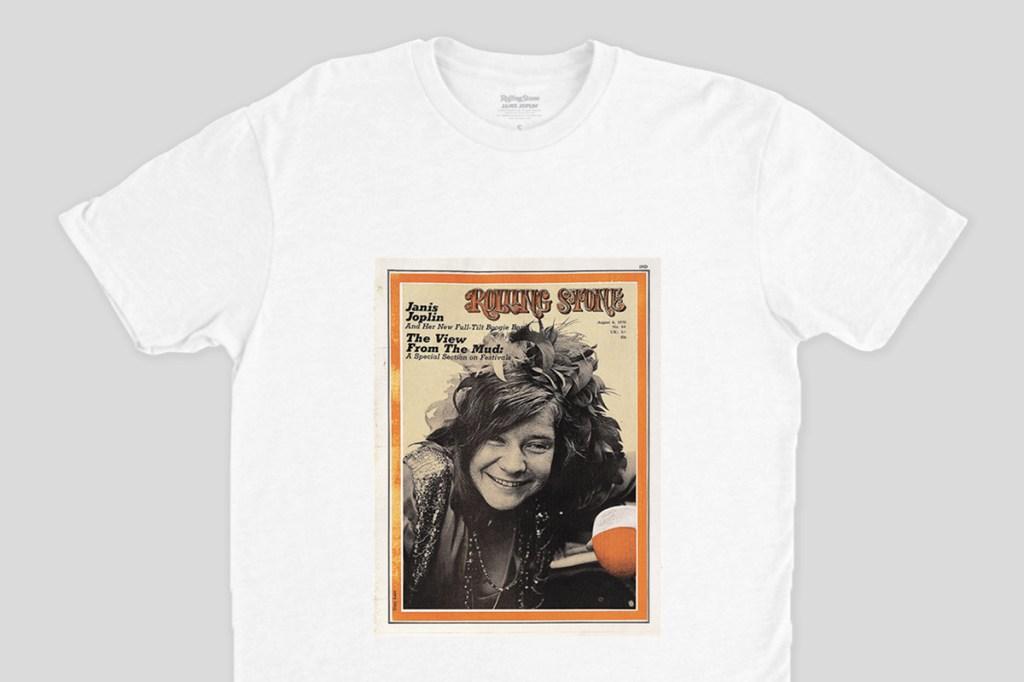 janis joplin rolling stone cover shirt
