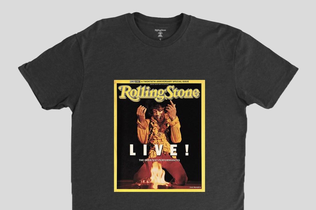jimi hendrix rolling stone cover shirt