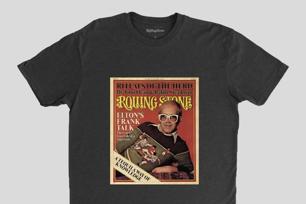 elton john rolling stone cover shirt