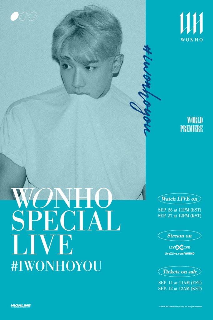wonho concert tickets live stream online
