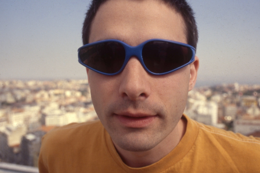 Adam Horovitz of the Beastie Boys poses for a portrait in Portugal, 1998.