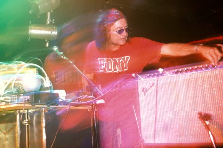 UNITED KINGDOM - SEPTEMBER 01: Photo of SILVER APPLES; Simeon Coxe (Photo by Mick Hutson/Redferns)