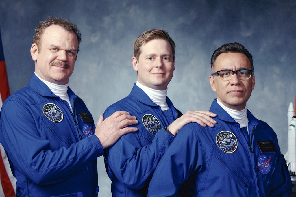 Fred Armisen, John C. Reilly, Tim Heidecker Star as Goofy Astronauts in 'Moonbase 8' Trailer