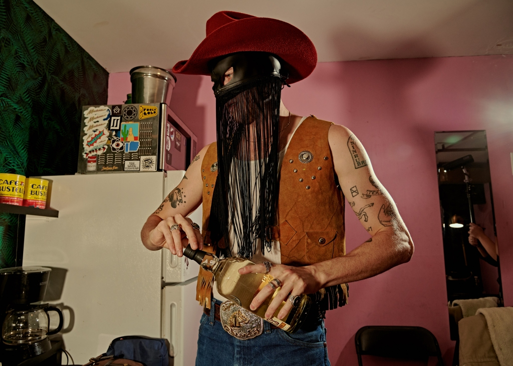 Orville Peck at the Music Hall of williamsburg for Rolling Stone