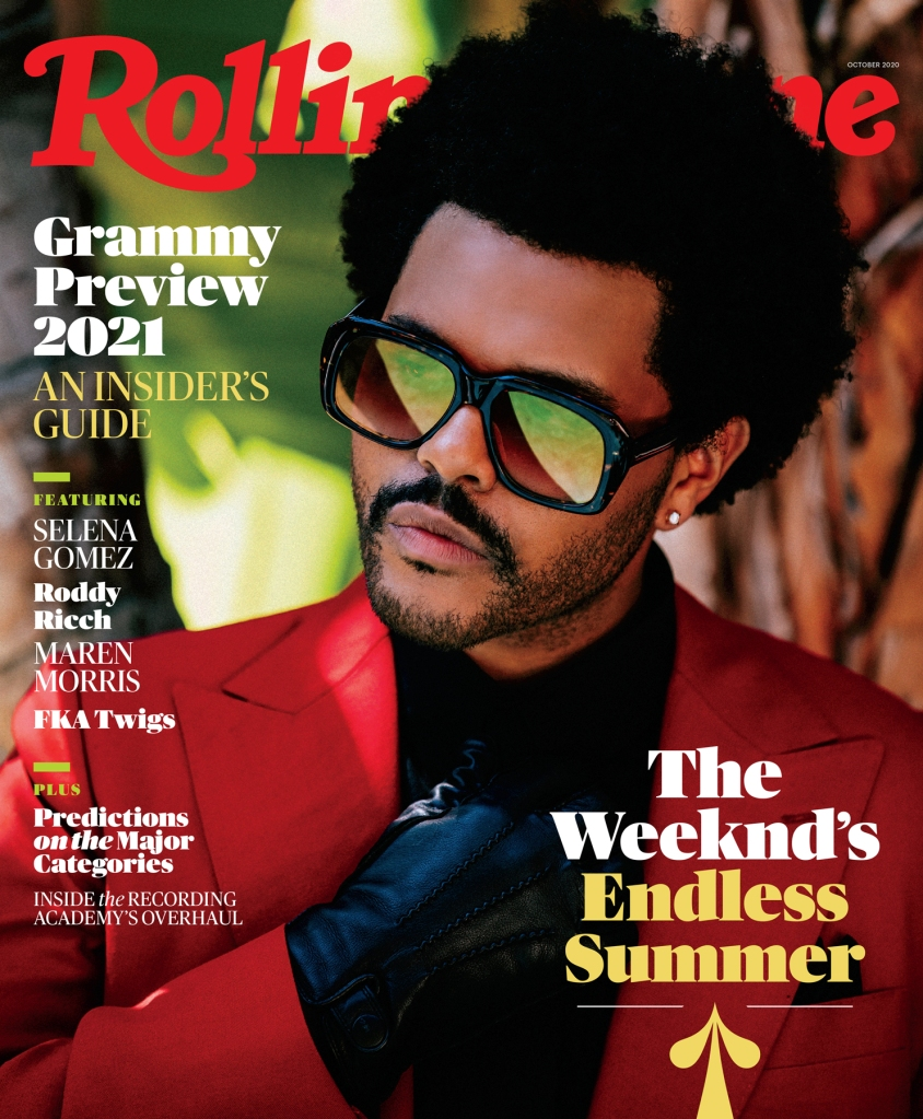 the weeknd grammy fyc cover