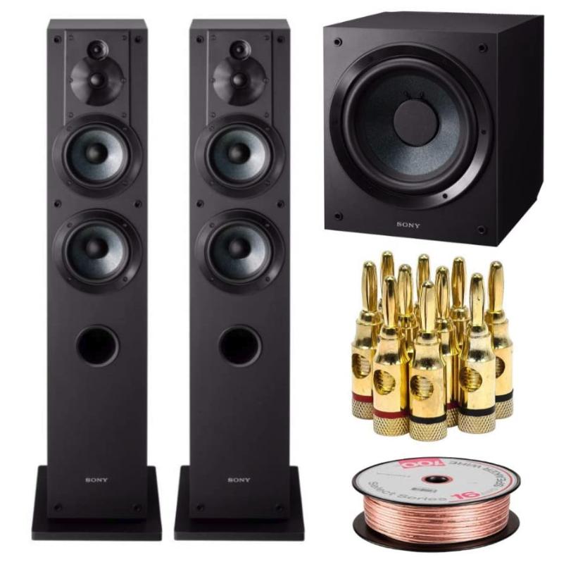 Sony SSCS3 3-Way Floor-Standing Speakers