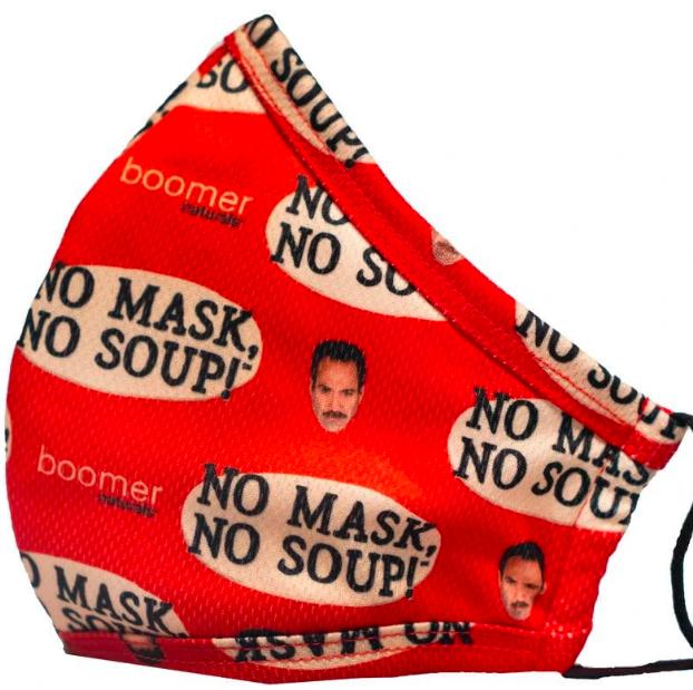 soup nazi face mask