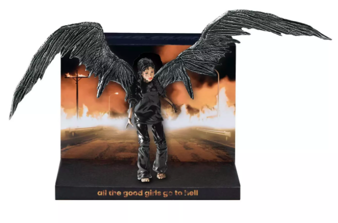billie eilish doll wings