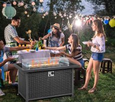 A Fire Table, Charcoal Grill and 8 Other Tools you Need for a Backyard Tailgate