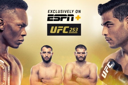 Watch UFC 253: Adesanya Vs Costa 9/26/20