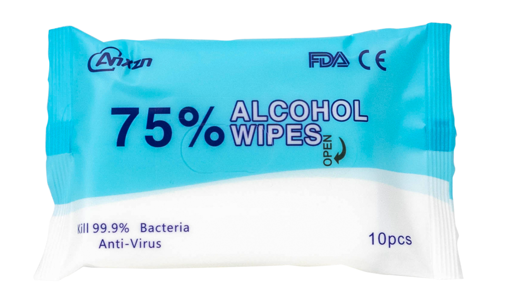 travel sized disinfectant wipes