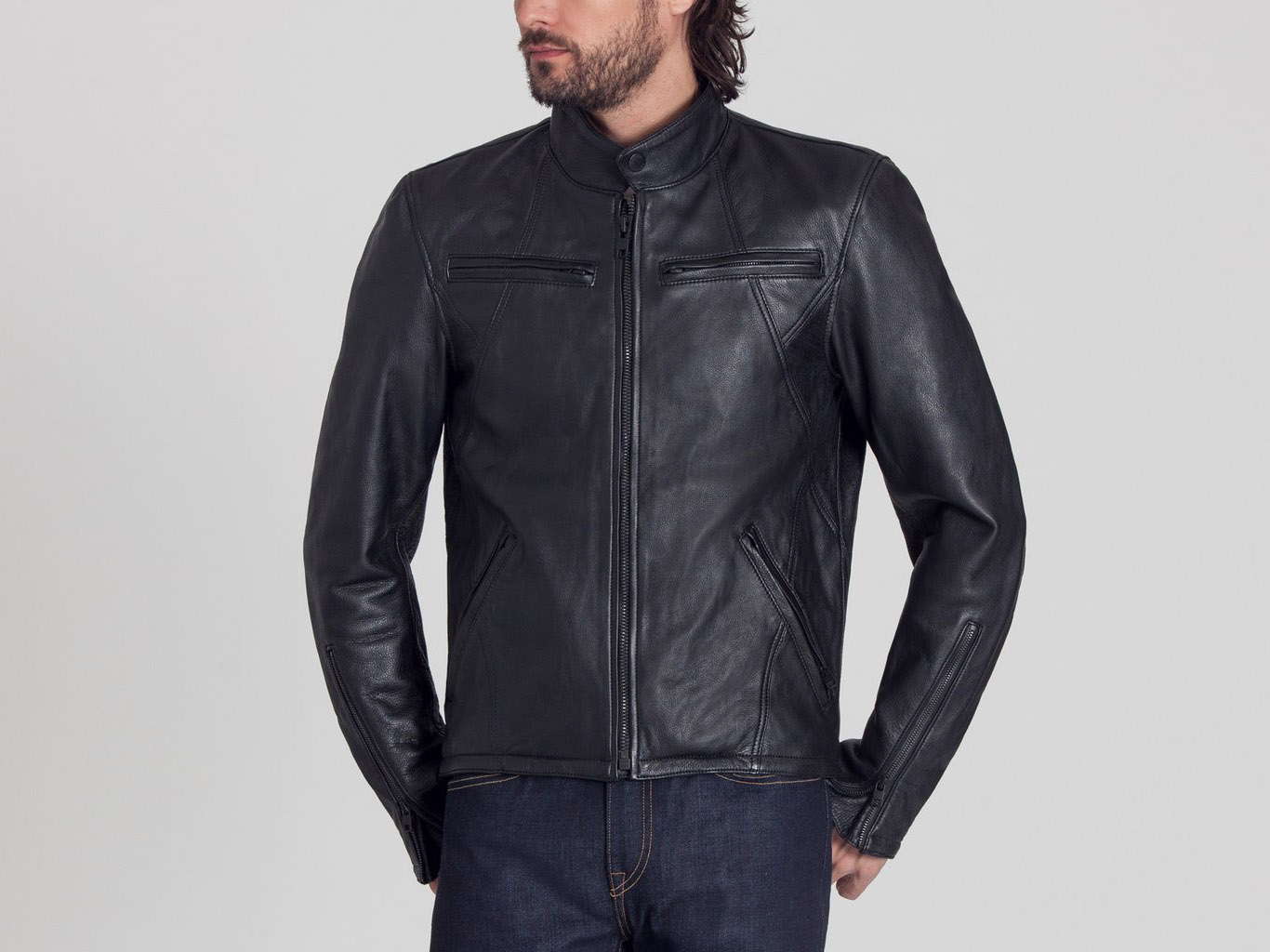 Best Fall Outerwear - Aether Men's Motorcycle Jacket