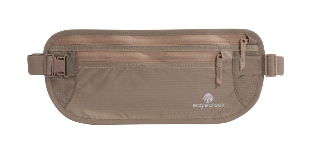 Best Covid-19 Travel Accessories - Eagle Creek Money Belt