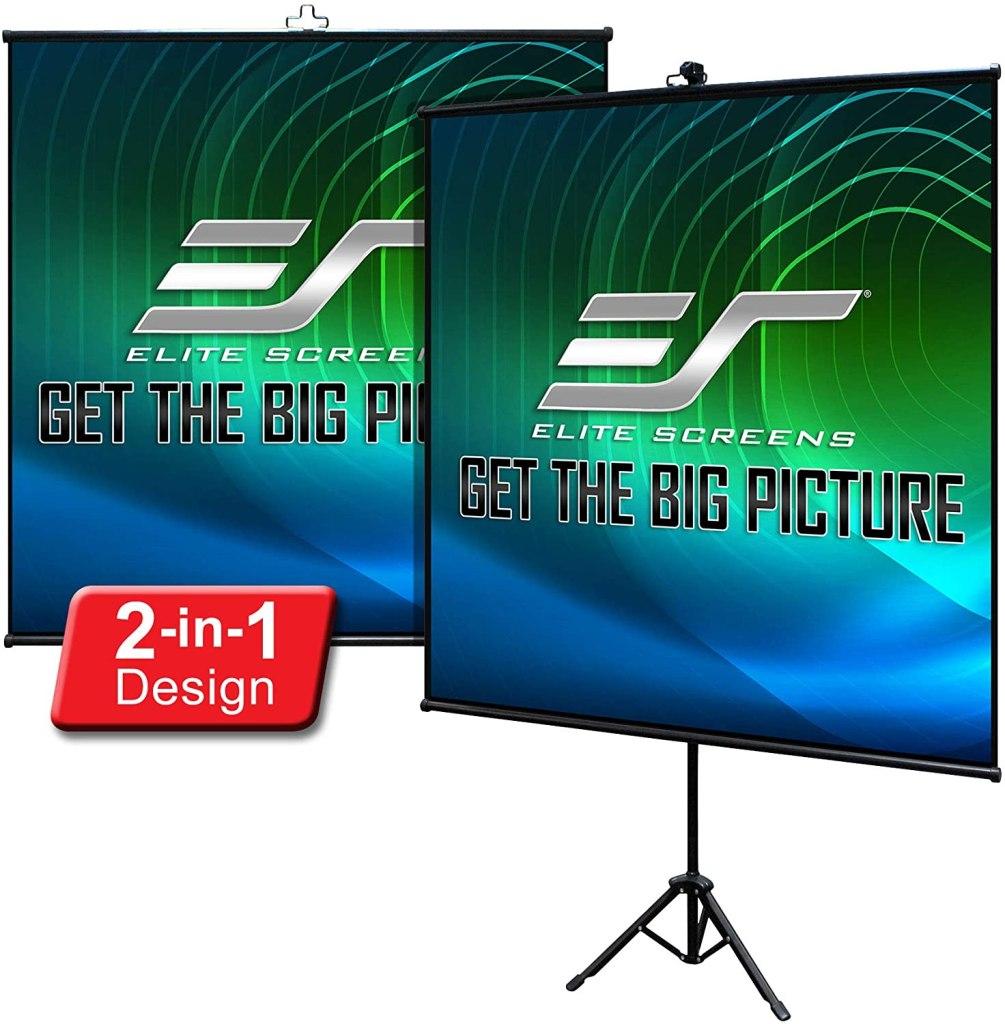 elite screens portable projector mount