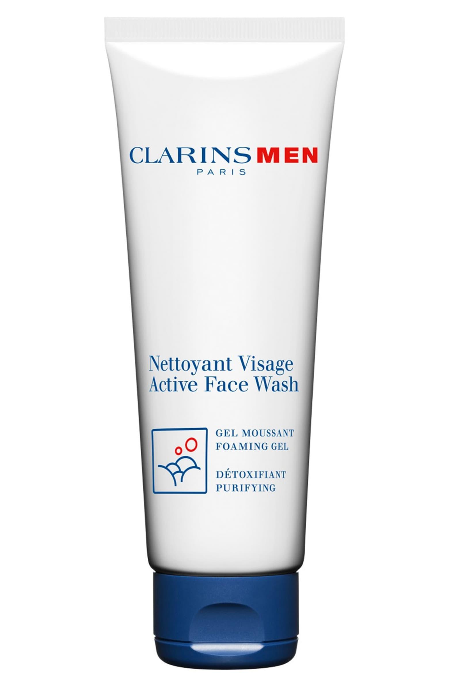 men's face cleanser clarins