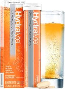 hydralyte electrolyte rehydration orange