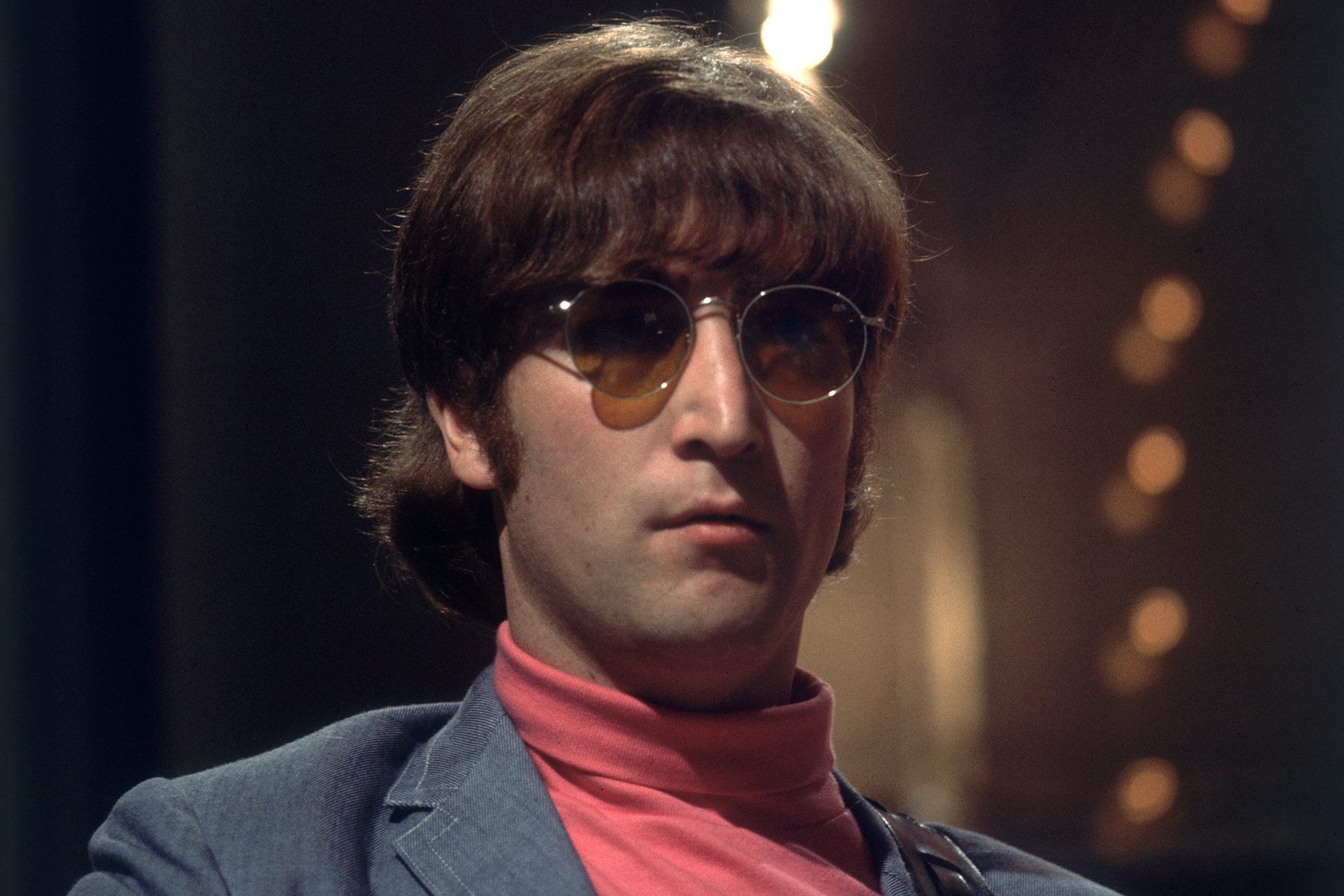 1966:  John Lennon (1940 - 1980) of the Beatles.  (Photo by Hulton Archive/Getty Images)