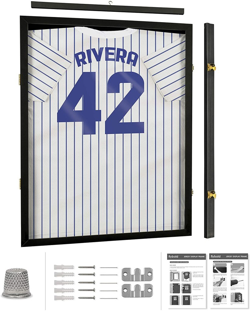 lockable jersey display shadowbox