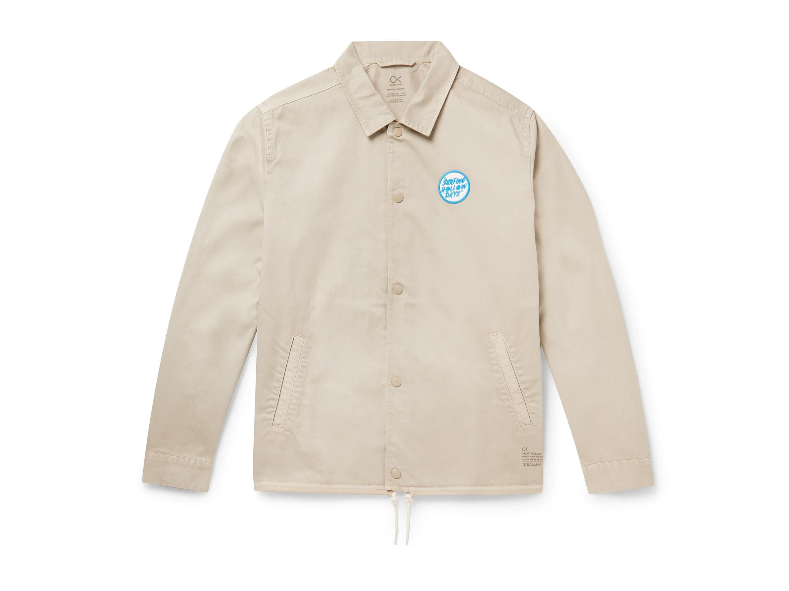 Best Fall Outerwear - Outerknown Organic Twill Men's Jacket