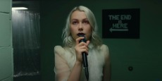 Phoebe Bridgers Performs 'I Know the End' in an Empty Theater on 'Late Night'