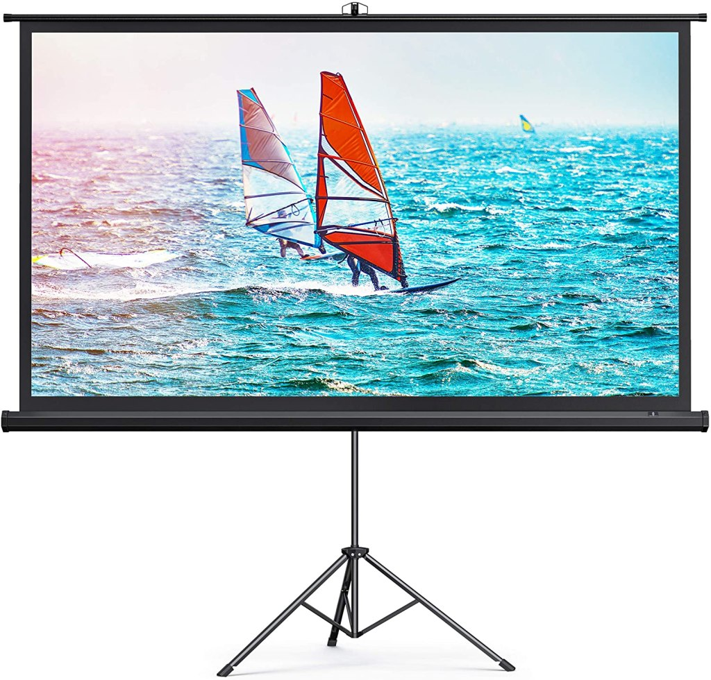 taotronics outdoor projector screen stand