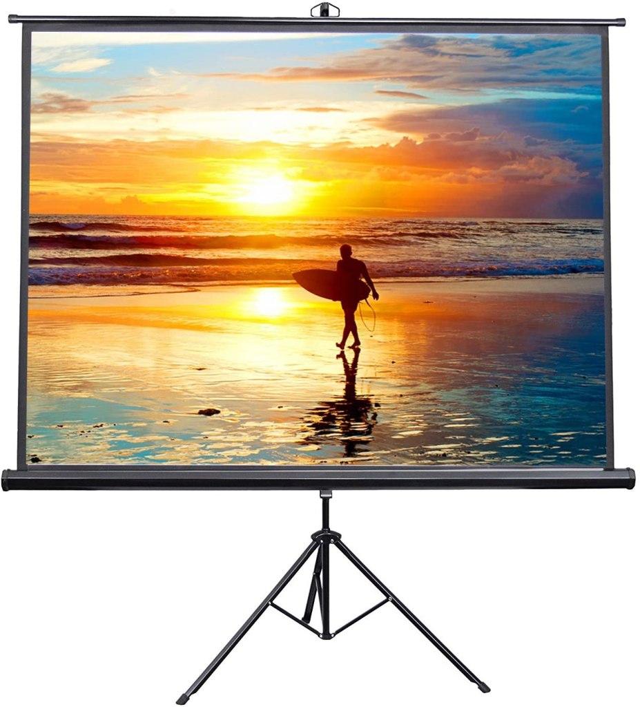 vivo portable indoor outdoor projector screen