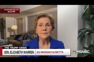 Watch Elizabeth Warren Rip Trump for 'Flirting With Treason,' Call Lindsey Graham Spineless
