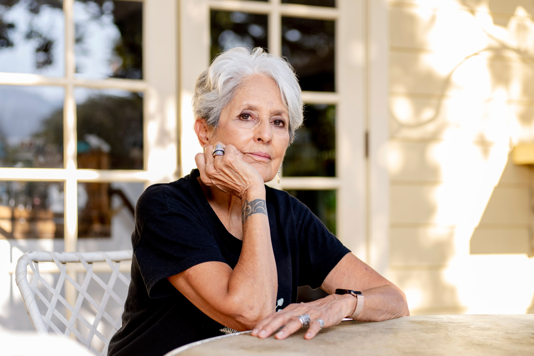Joan Baez On The 2020 Election Painting Portraits Rolling Stone