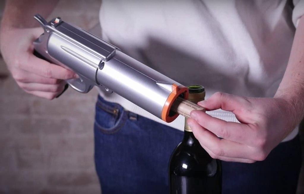 best wine gifts gun opener
