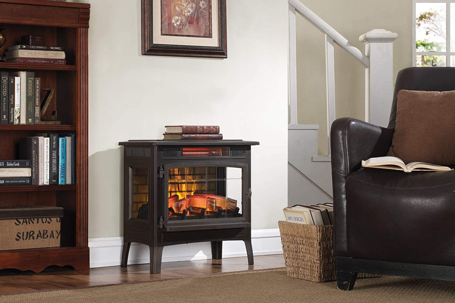 Best Electric Fireplace Heaters 2020 Freestanding Built In Insert Rolling Stone