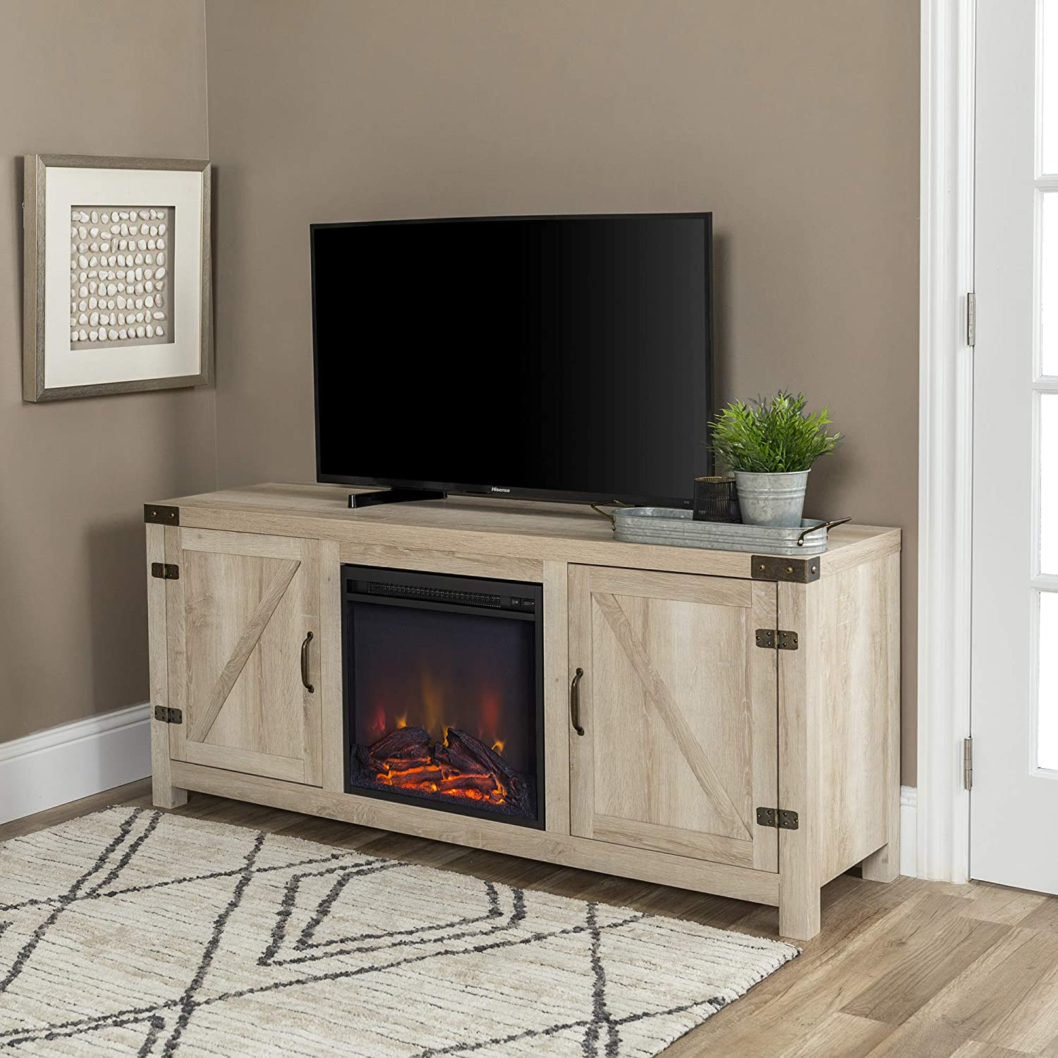 tv stand fireplace cabinets