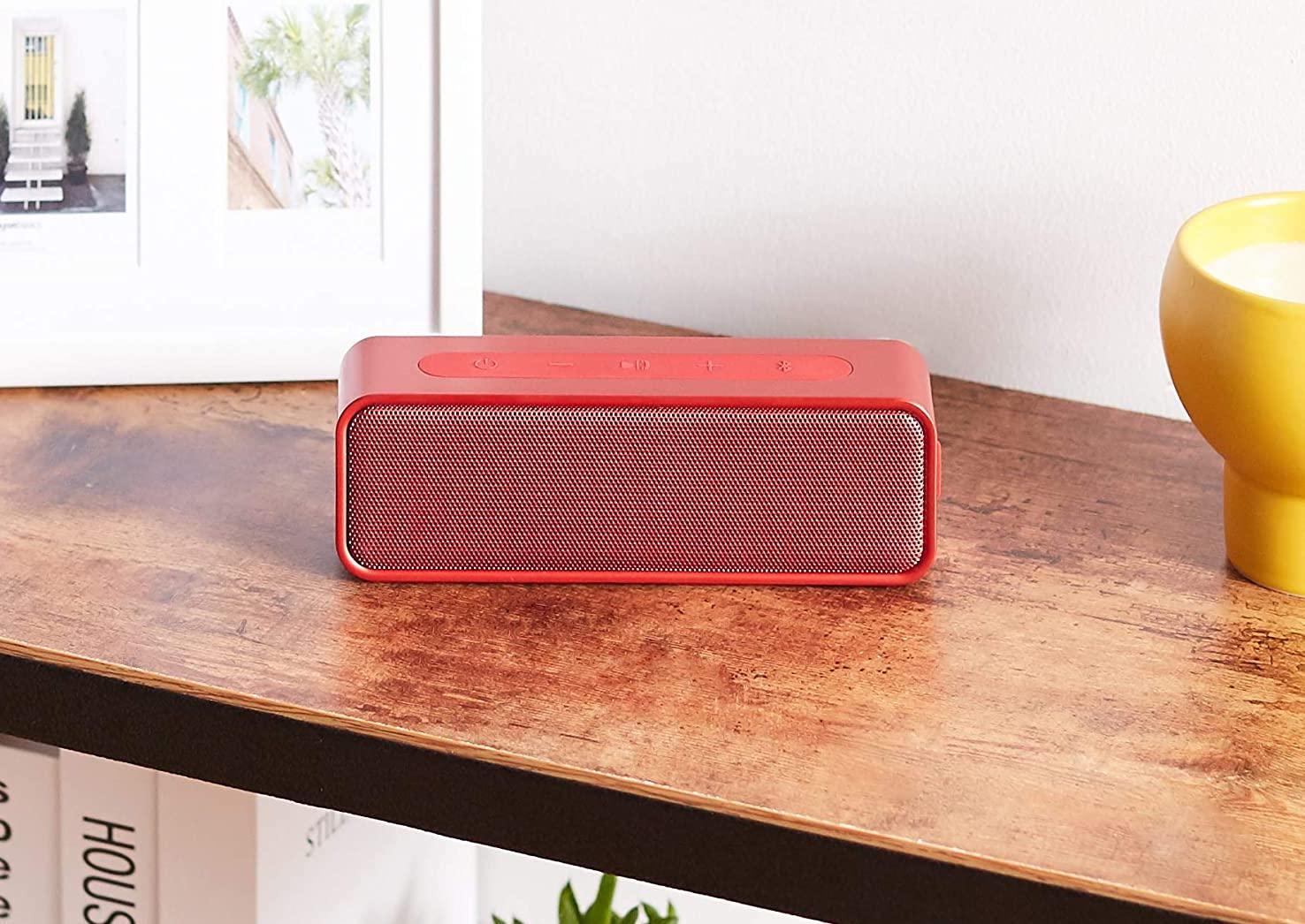 AmazonBasics Water Resistant Bluetooth Speaker