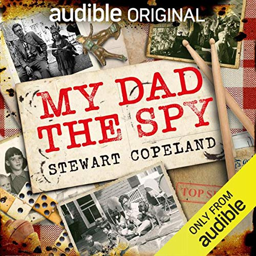 Audible Original Podcast My Dad the Spy cover art
