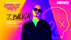 J Balvin Will Play a Fortnite Show on Halloween