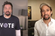 Jimmy Fallon, Lin-Manuel Miranda Reunite for 'Two Goats Who Will Vote'