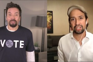 Jimmy Fallon, Lin-Manuel Miranda Reunite for 'Two Goats Who Will Vote'