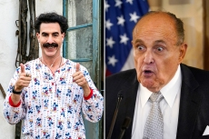 Rudy Giuliani Will Definitely Regret Filming 'Borat' Sequel Interview