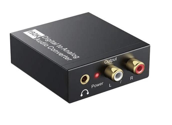 Techole Digital to Analog Audio Converter-192kHz