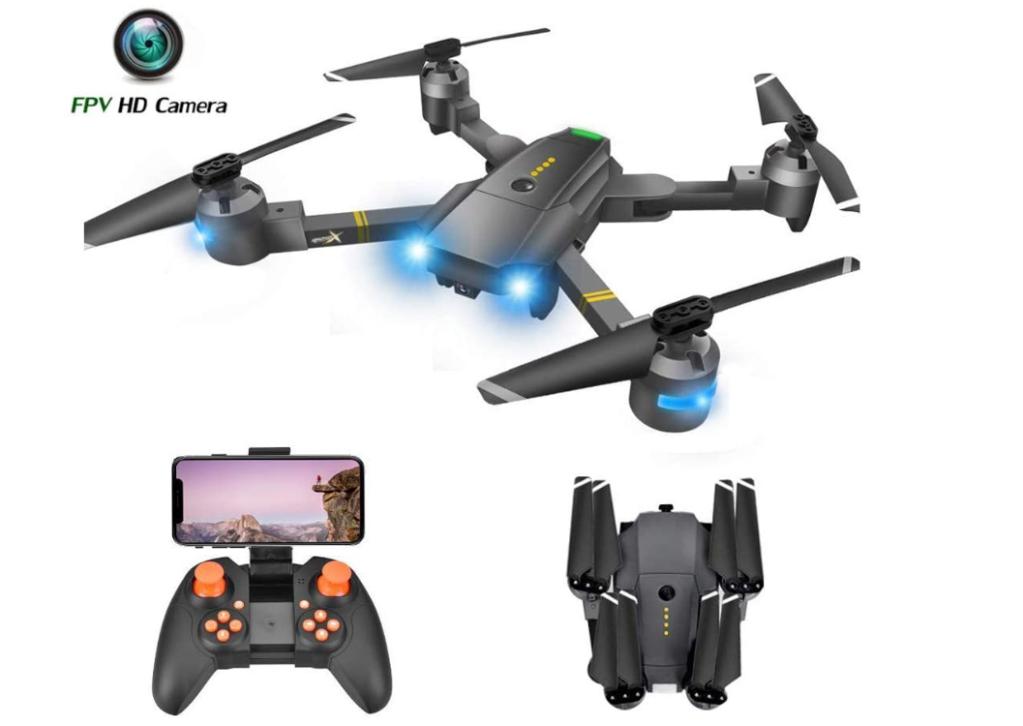 ATTOP 120° Wide Angle RC Quadcopter Drone