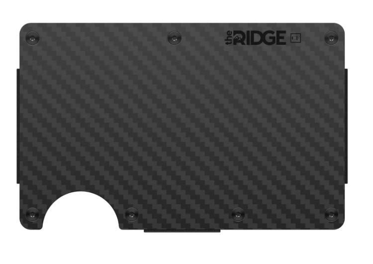 carbon fiber wallet ridge