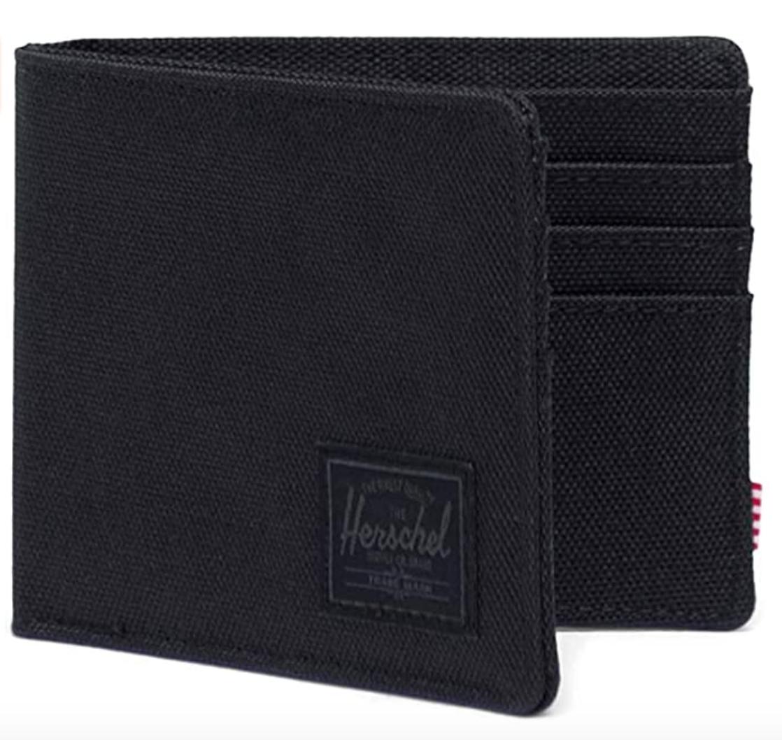 black wallet men's herschel